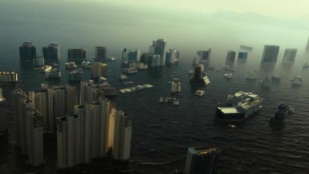 海云台:海云台突发海啸,整个城市被淹没,场面令人震撼!