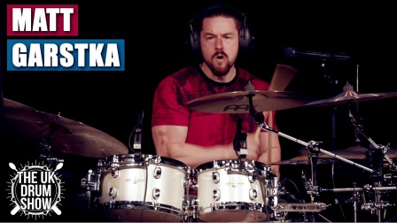 ★ME威律动★Matt Garstka - White Lighter (UK Drum Show 2019)