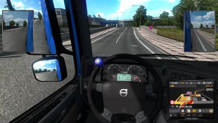 欧洲卡车模拟2 EX的周五自驾游 第十九集