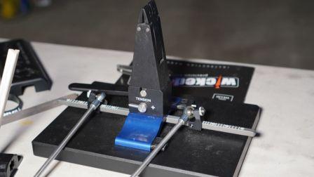 顶级 定角磨刀器 Wicked Edge 恶魔刀锋 WE-100 与 WE-130的简单对比。