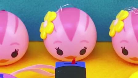 小猪佩奇钱包寻宝玩具!托马斯小火车分享萌鸡小队奇趣蛋