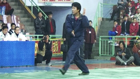全国传统武术比赛优秀套路辑选 01 012 男子拳术