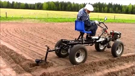 自古民间出高手,看看国外农民自制的工具,太完美了