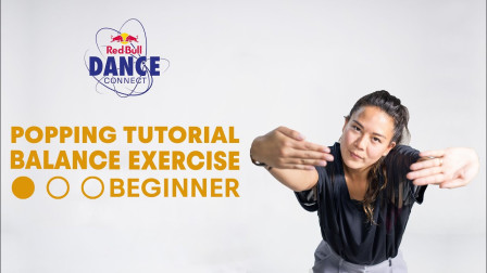 Balance Exercise For Beginners | Popping Dance Tutorial with DeyDey