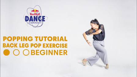 Back Leg Pop Exercise For Beginners | Popping Dance Tutorial with DeyDey