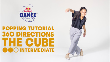 360 Directions - The Cube | Popping Dance Tutorial with DeyDey