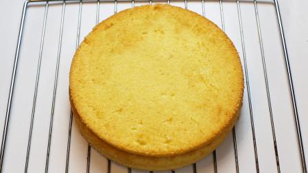 想吃蛋糕不用买,教你一个在家也能做的方法,湿润绵软,入口即化