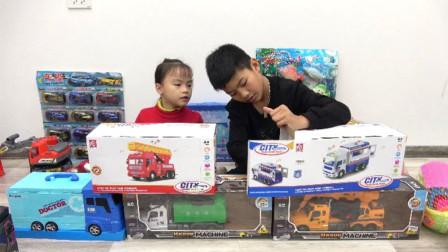 好好玩!萌宝小萝莉跟小正太分享的玩具你喜欢哪个?趣味玩具故事