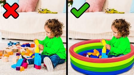 好厉害!萌宝小正太跟妈妈教大家哪些生活小技巧?趣味玩具故事