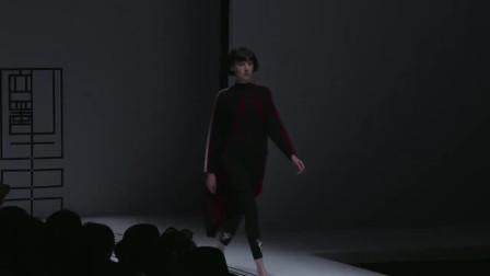 时装秀:黑色紧身裤,搭配同色紧身衣,简约搭配展现绝世好身材!