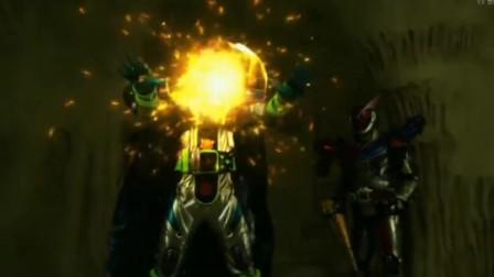 假面骑士:黑沃兹最潇洒的时刻,直接释放最强太阳力量!