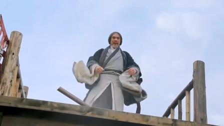 小乞丐吃烧饼吃出玄铁令,被江湖高手围攻,不料绝世高手从天而降