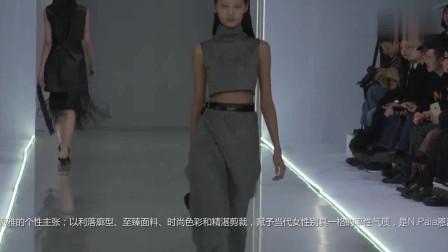 时装秀:灰色紧身露脐装,穿出你的傲人身材,让你女人味十足!