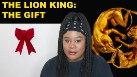 戏精AJay姐姐听Beyonce狮子王电影原声The Lion King the gift 的反应