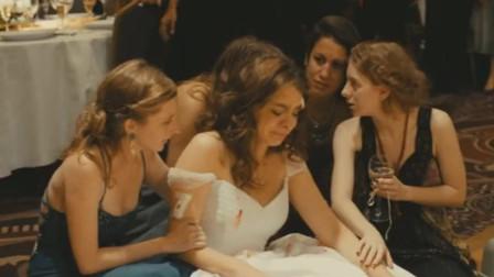 本是喜气洋洋的婚礼现场,因为一个小小的举动,差点变成葬礼!