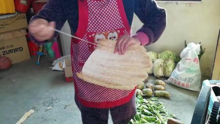 自己动手做丝瓜瓤蒸馍垫,超简单,一学就会,再也不用掏钱买了
