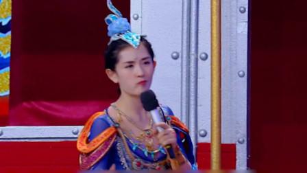 谢娜在节目中戴耳机吃东西,导演对她这么宽容?