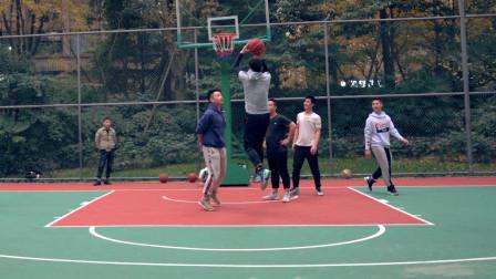 这个小区篮球水平如何?