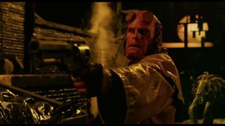 地狱男爵:我来自地狱,封印右手的力量你无法想象,男爵大战恶魔