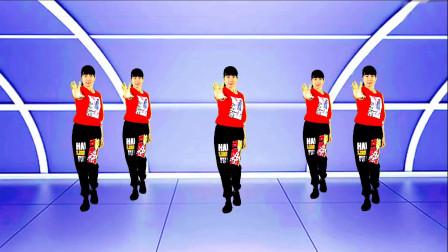 淡然豆芽广场舞《我的爱要你知道》动感弹跳原创正背面附教学完整版
