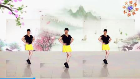 阳光美梅广场舞【酒醉的雨滴 (DJ版】原创单人水兵舞附教学-编舞:美梅