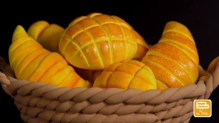 超轻黏土手工坊 美食总动员 松软香甜的面包