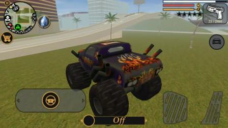 都市模拟:小狸用散弹枪能摧毁轻飘飘的大脚汽车吗