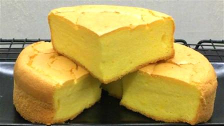 想吃蛋糕不用买,用7个鸡蛋做戚风蛋糕,柔软细腻香甜,做法简单