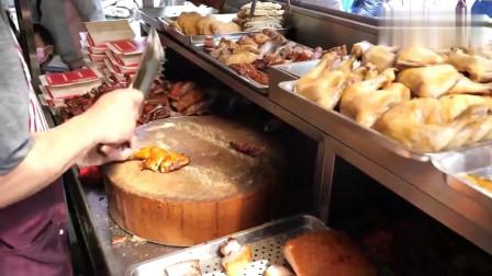 美食:这是我见过最犀利的斩工,真正的一秒5刀,全程敲菜板敲的飞起