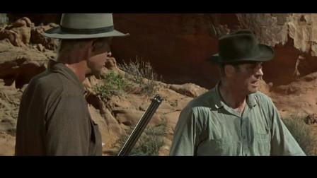 西部枪战片:职业大盗峡谷设下埋伏,突袭墨西哥流寇,全歼敌军!