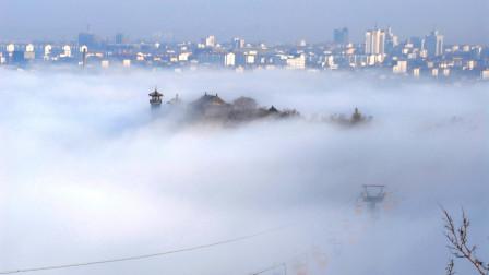 为什么山东蓬莱海市蜃楼,会出现古代战场景象?听听专家怎么说