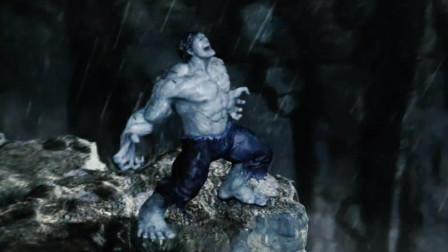 浩克听到闪电瞬间不淡定,还以为遇到敌袭,一副想打架的样子