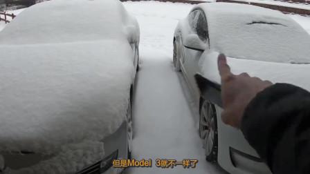 豪车和普通车在冬天的区别,看了才知道差距那么大