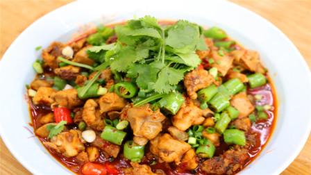 川菜师傅分享兔肉的做法,肉质软烂鲜香开胃下饭,做法还特别简单