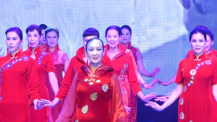 天坛周末7963 旗袍秀《可爱的北京》东方明珠艺术团