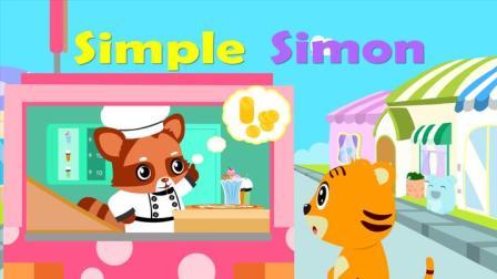 优秀早教启蒙童谣之贝乐虎英文儿歌《Simple Simon》