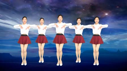 火热网络情歌《酒醉的雨滴》32步初学水兵舞基础步