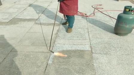 大理石翻新,用火烧真的管用吗?这是什么原理?
