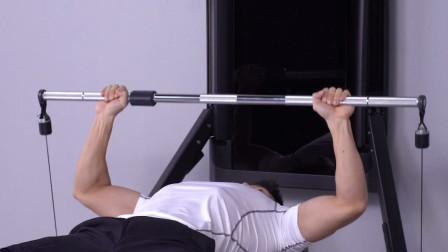 练胸最好的动作,卧推你做对了吗?没办法去健身房,在家健身黑科技来帮忙~