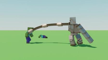 我的世界动画-升级版铁傀儡-UncleSalad