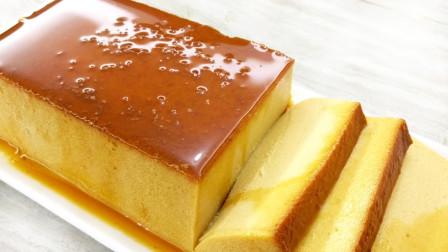 用面包制作焦糖蛋糕,不用烤箱不用面粉,看一遍就能会