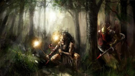 【于拉出品】魔兽RPG第1663期:战就战,纯远程治愈系暗影杀手对战吉安娜大师