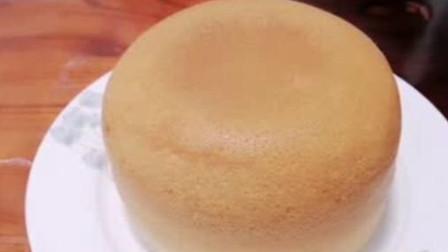 零失败的电饭锅蛋糕 一次成功 既简单又好吃 大人小孩都喜欢吃 松软细腻