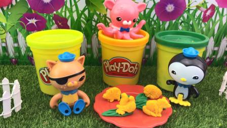 培乐多彩泥玩具,海底小纵队制作DIY饼干!