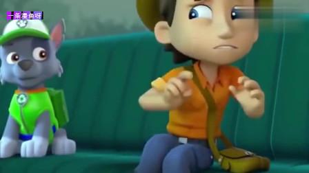 汪汪队动画片:莱德队长带着狗狗们出动任务