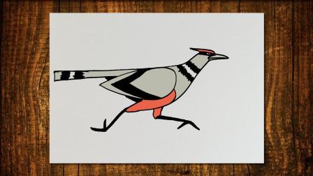 奔跑的鸟窦老师教画画