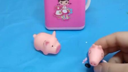 乔治让小猪仔去洗衣机里洗澡,小猪仔洗完头晕,这是为什么呢?