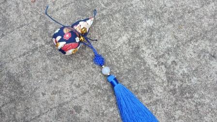 布滋味卡通葫芦香囊儿童挂脖香包diy制作视频