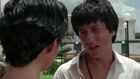 成龙元彪在这部戏里都只是配角, 为了女朋友还打了一架!