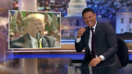 特朗普当众狂飙印地语,奇怪发音引崔娃爆笑吐槽